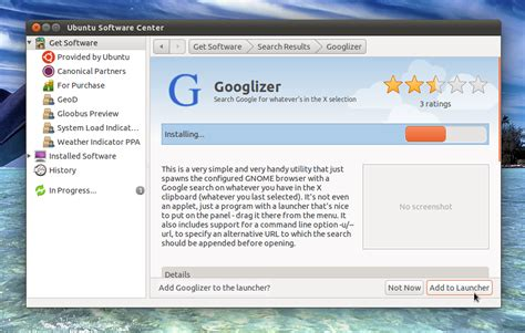 awn internet googlizer search google from the clipboard all ubuntus
