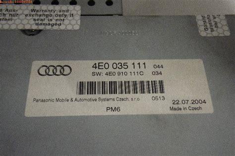 Cd Wechsler Audi A6 by Cd Wechsler Audi A6 4f C6 2 0 Tfsi 125 Kw 170 Ps 06