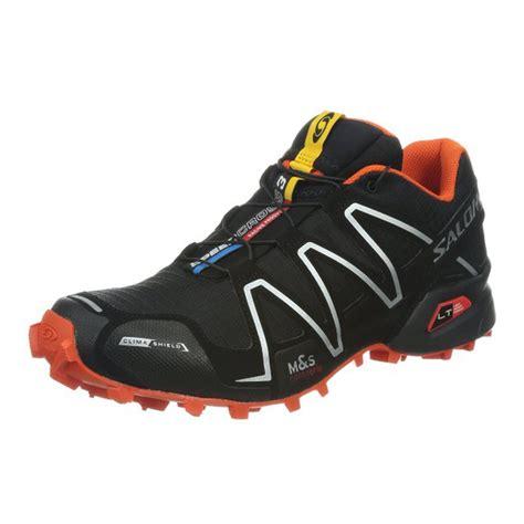 100 authentic salomon speedcross 3 cs mens shoes black