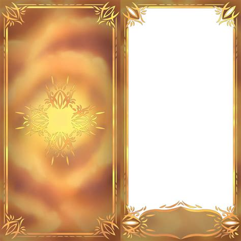 Tarot Card Template Psd by Soc Aura Card Templates By Aealzx On Deviantart