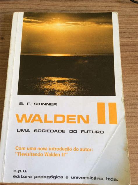walden book description walden two skinner pdf