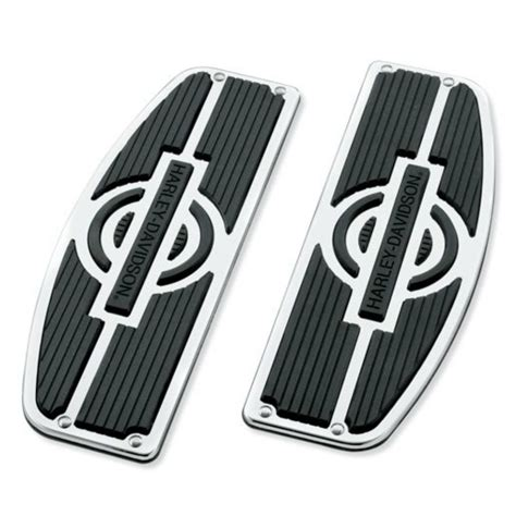 Harley Footboards by Genuine Harley Davidson Nostalgic Rider Footboard Inserts