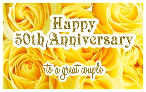Happy 50th Wedding Anniversary ecards   Greetingshare.com