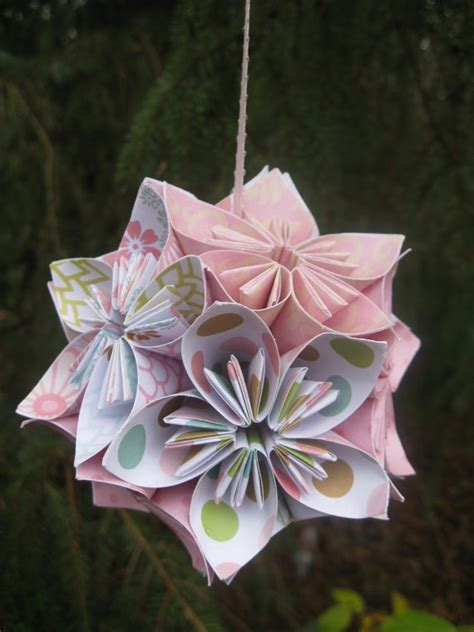 White Origami Paper Uk - 1000 images about kusudama flowers on origami