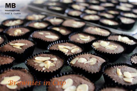 Coklat Kue Tart Segitiga resep dan cara memasak kue kering brownies in cup enak