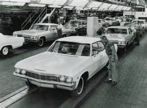 Chevrolet Assembly Line Chevrolet Celebrates 100 Years Part 2 Of 3 Sunday