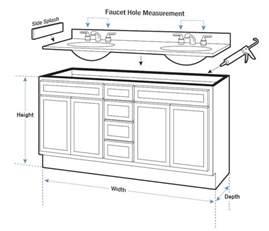 Standard Bathroom Dimensions Cabinet Face Dimensions Bathroom Vanity Base Cabinet