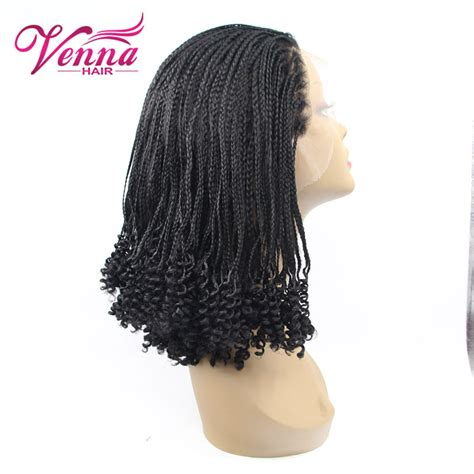 micro braided wigs for black women cute short black micro braid wig for black women heat