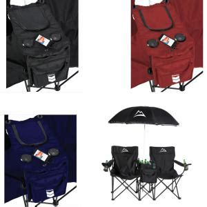 promotional folding chair with umbrella