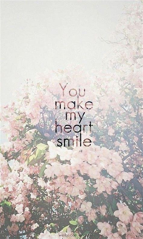 heart smile picture quotes