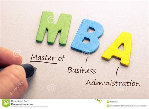 Bs Mba Meaning by Mba Stock Image Image Of Alphabet Career Course