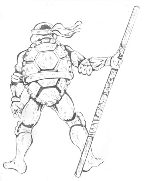 donatello coloring pages coloring pages