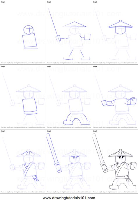 pictures of step by step how to do box braids styles how to draw first spinjitzu master from ninjago printable