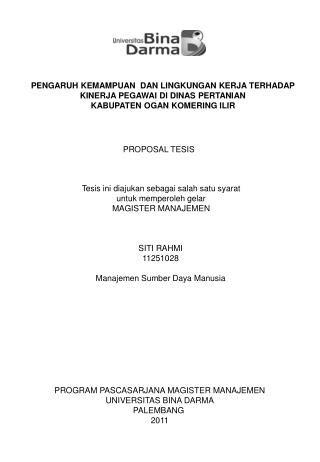 "PPT - Universitas Putra Indonesia ""YPTK"" Magister"