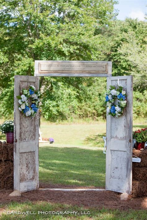 Wedding Arch Made From Doors by 25 Best Ideas About Outdoor Wedding Doors On
