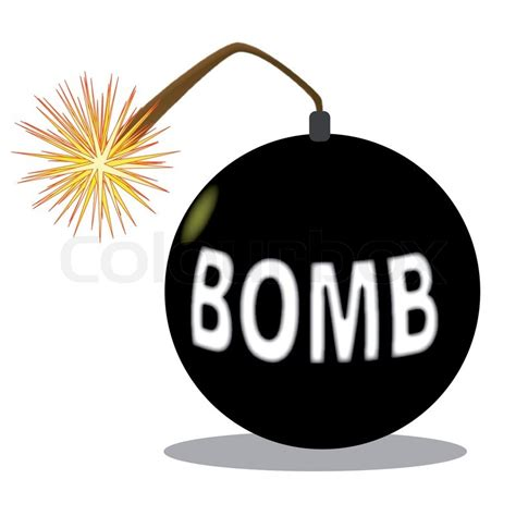 images of bombs a traditional style bomb with lit fuse isolaterd