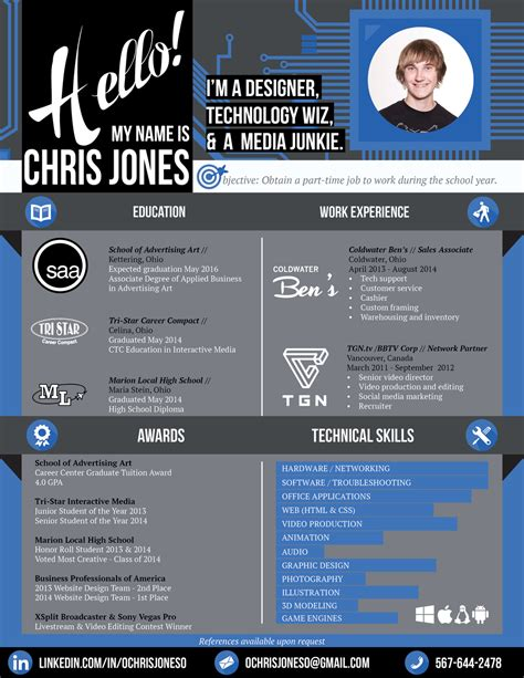 Graphic Design Resume Sles 2015 Creative Resume Graphic Web Designer By Ochrisjoneso On Deviantart
