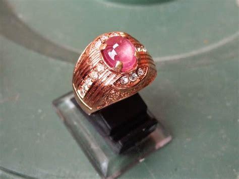 Merah Siam Ring 8 jenis batu akik batu cincin batu mulia batu akik