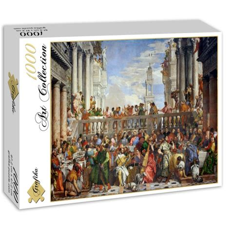 Wedding At Cana Puzzle by Puzzle Paolo Veronese The Wedding At Cana 1563 Grafika