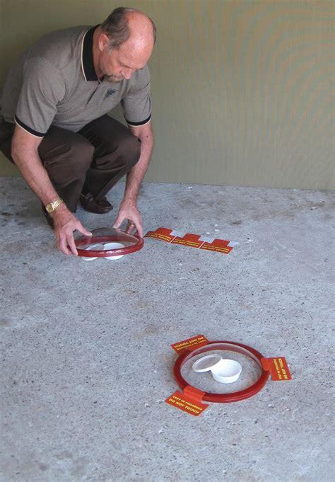 how to moisture test concrete floors concrete