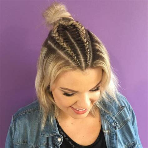 braid in front curl in back hair 20 stylish low maintenance haircuts and hairstyles