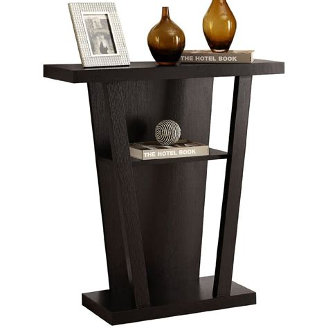 Slim Entryway Table Entryway Console Table In Accent Tables
