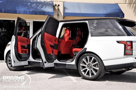 range rover white interior 2017 range rover a true design icon land rover usa autos