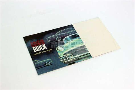 buick brochure 1956 buick sales brochure hometown buick