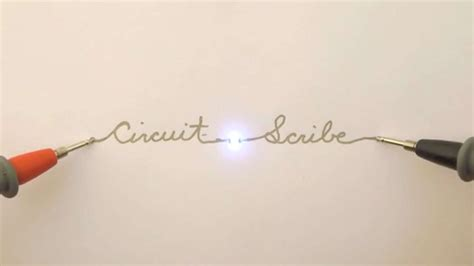 rollerball pen turns doodles into working circuits this awesome pen lets you doodle a circuit