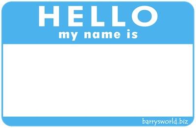 format name tag blank name tag barry s world