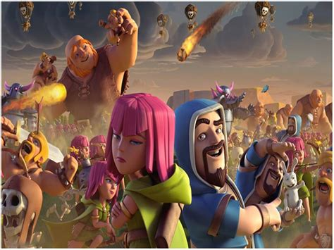 wallpaper android coc clash of clans coc full hd wallpapers background