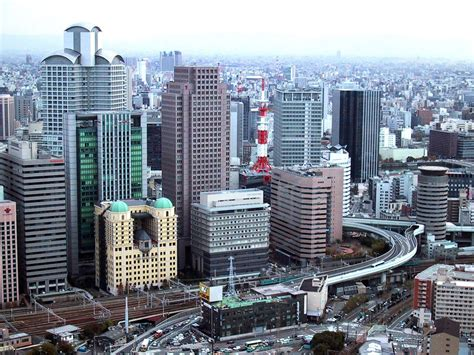 De City osaka beautiful city of japan world for travel