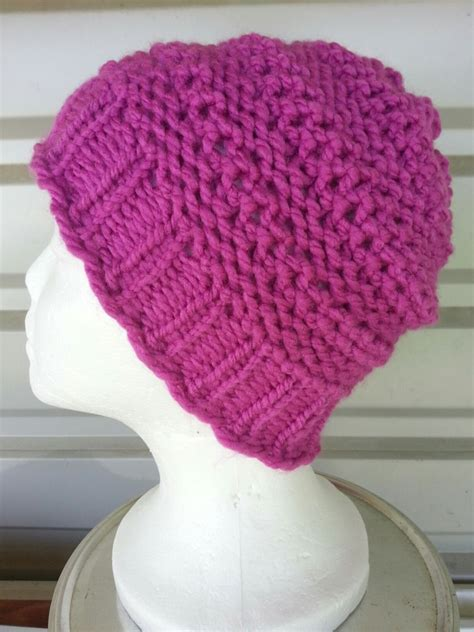 knit loom hat dip stitch loom knit goodknit kisses