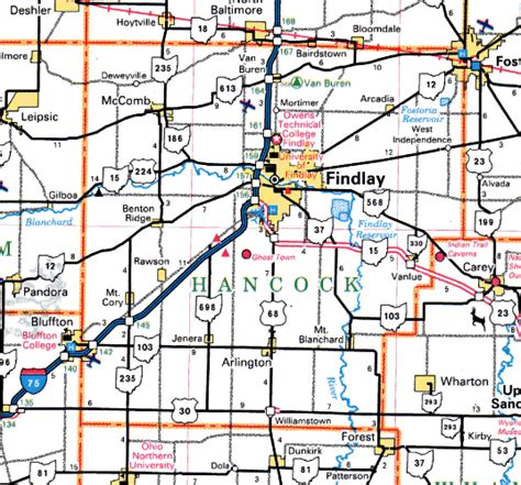 Plat Maps by Forgotten Ohio Hancock County