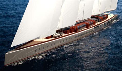 groot zeiljacht the world s biggest sailing yacht 141 metres of wood