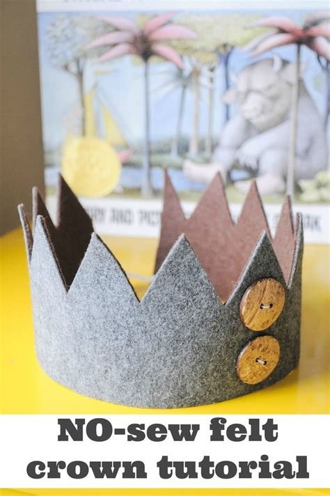 How To Make A Birthday Crown Out Of Paper - 25 best ideas about felt crown on crown