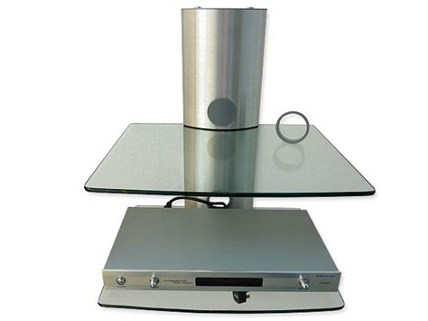 glass mount fit for playstation xbox console shelf storage