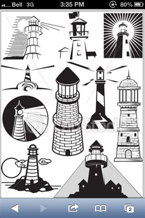simple lighthouse tattoo pics for gt simple lighthouse drawing