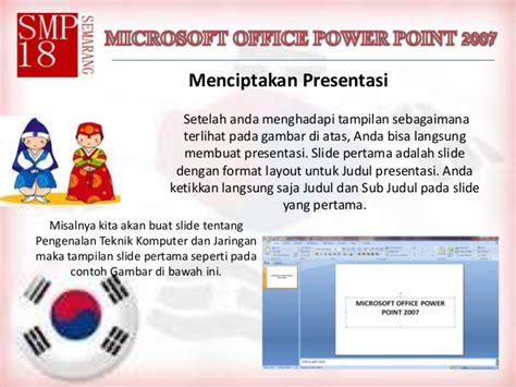 jenis layout pada office theme microsft office power point 2007 bab 1 dan 2