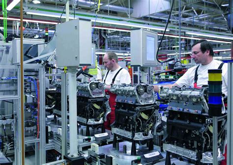 audi production line audi hungaria motor kft engine production line eurocar