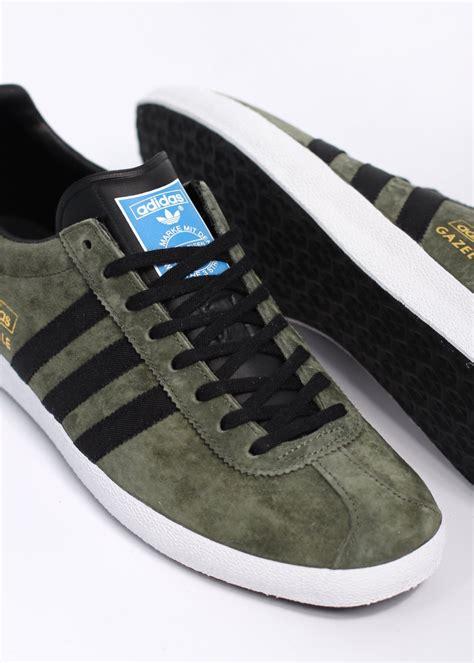 Lq St Adidas Black adidas originals gazelle og trainers st major green