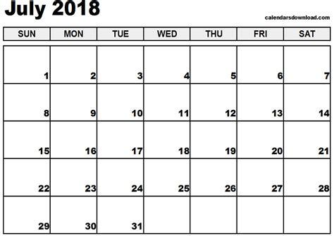 printable calendar july 2018 printable calendar july 2018 pdf journalingsage com