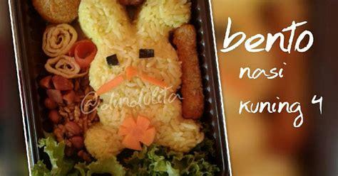 nasi kuning bekal  resep cookpad