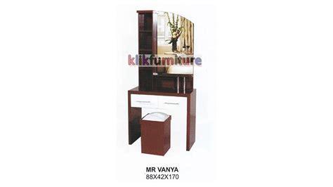 Meja Rias Plastik harga meja rias kayu vanya cms distributor furniture