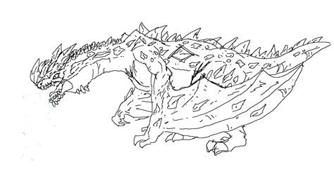 Ice Dragon Coloring Page | ice dragons creatures coloring pages ice best free