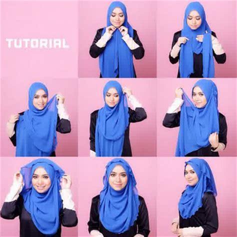 tutorial hijab berenang outfit ke pantai untuk yang berhijab