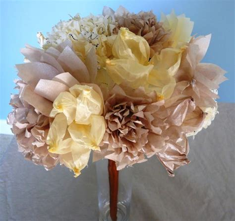 How To Make Tissue Paper Bouquet - tissue paper flower bouquet weddingbee photo gallery