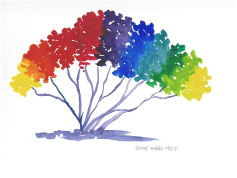 the color wheel tree stafford artworks