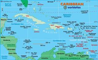 caribbean map map of the caribbean maps and