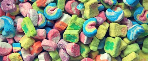 you can now buy a bag of just lucky charms marshmallows